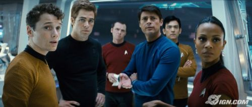 The new/old Star Trek cast