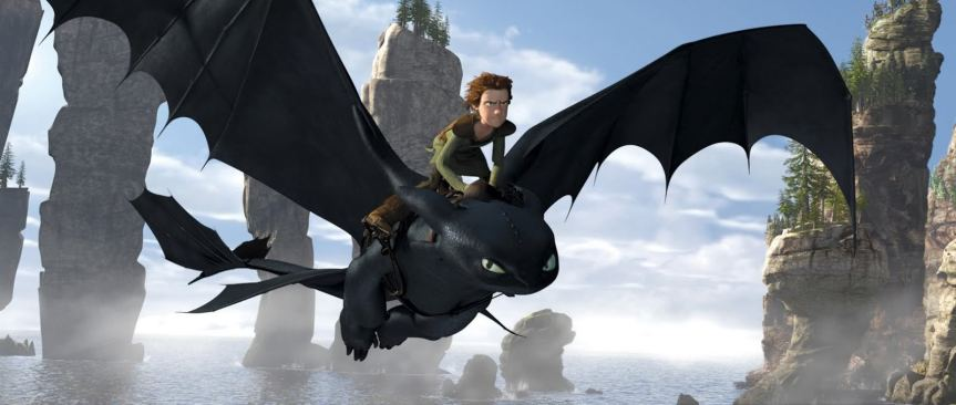 How to Train Your Dragon movie wallpaper
