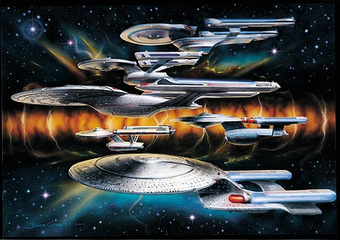 Starships named Enterprise