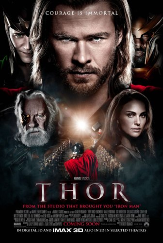 Thor movie poster 2011