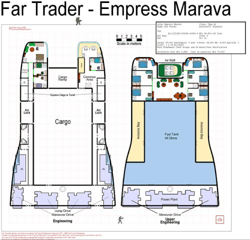 """Empress Marava""-class far trader"