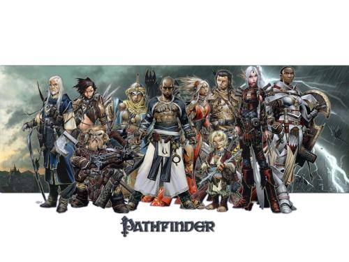 """Pathfinder"" RPG wallpaper"