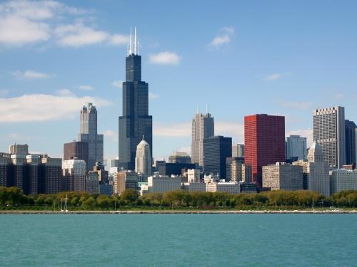 Chicago Skyline by r_seaman@hotmail.com