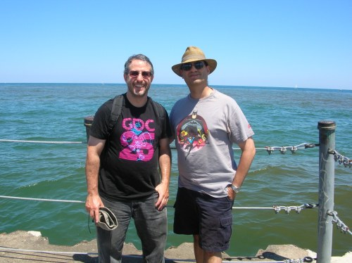 Dave and Gene, July 2011