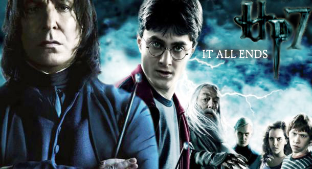 Banner for the final Harry Potter movie