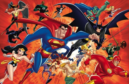 The animated Justice League