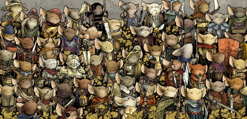 Wallpaper for Mouse Guard RPG