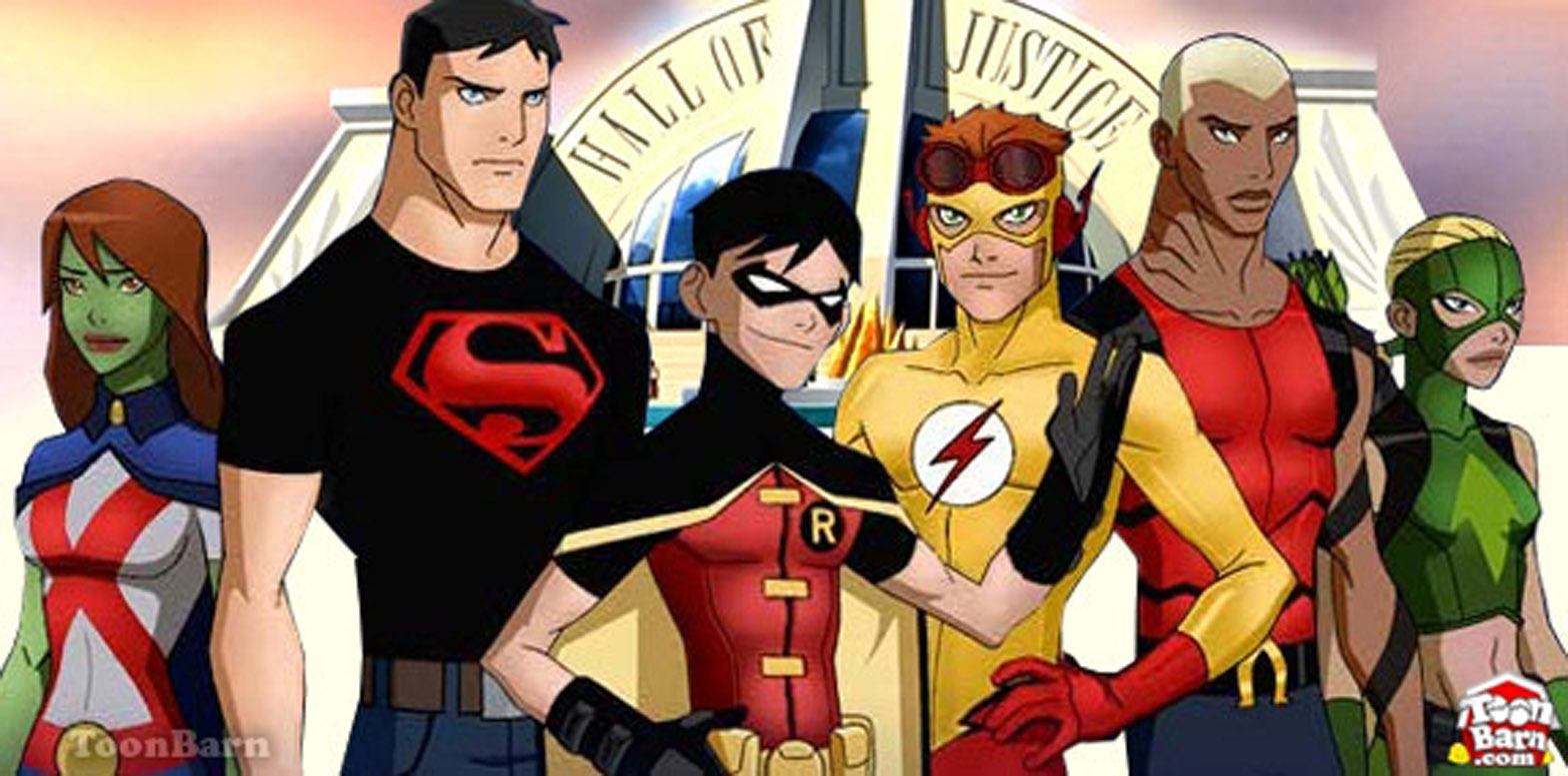 Young Justice Anime Cartoon