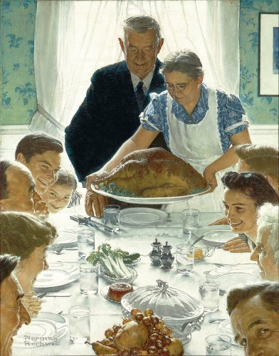 Norman Rockwell's vision of America