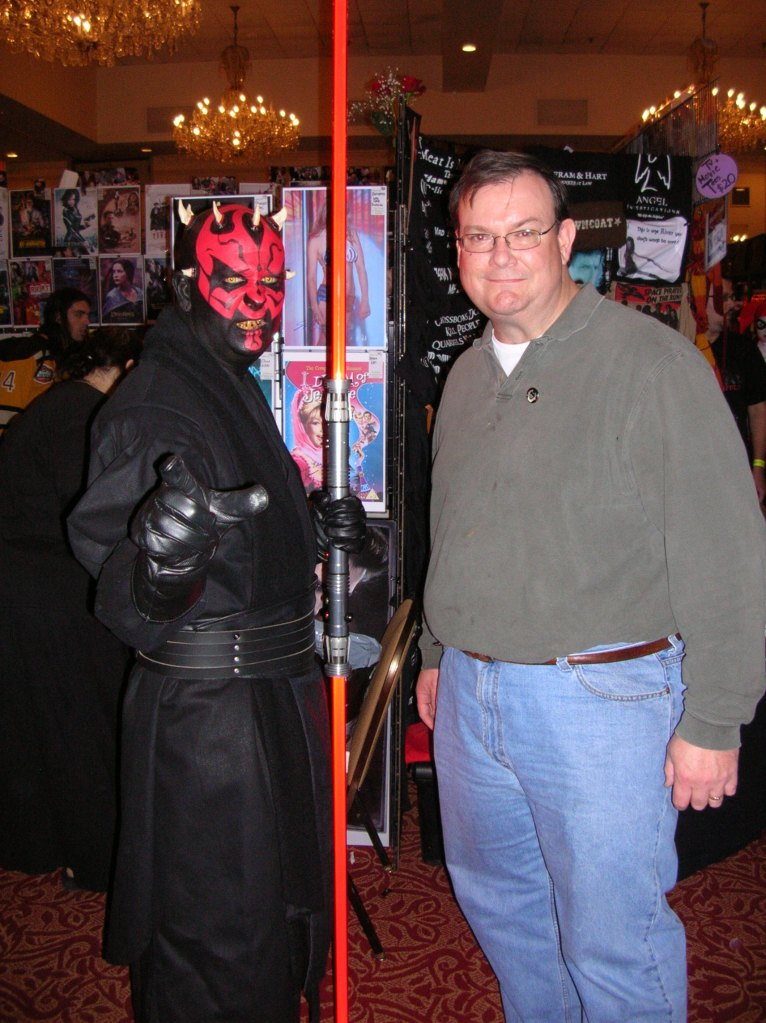 Darth Maul and Byron