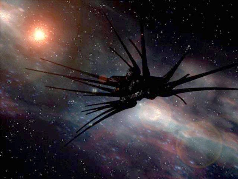 "Shadow vessel from ""Babylon 5"""