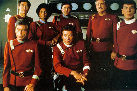 "Cast of ""The Undiscovered Country"""
