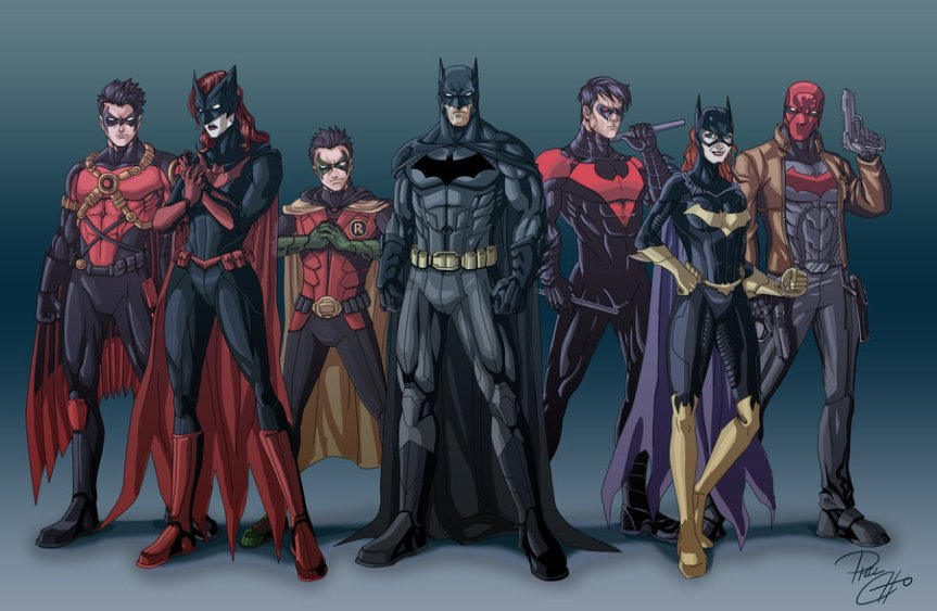 The Batfamily, late 2011