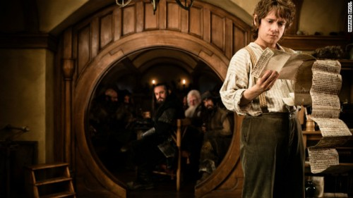 Image from the first part of Jackson's Hobbit adaptation