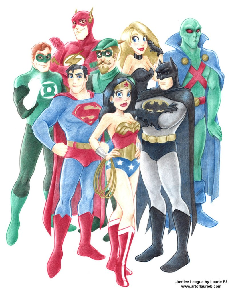 Justice_League_by_Laurie_B_by_ArtofLaurieB