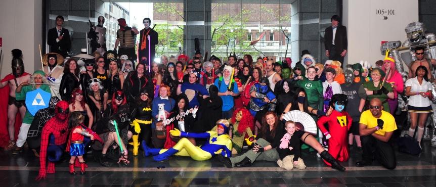 Fans at the Boston Comic Con 2012