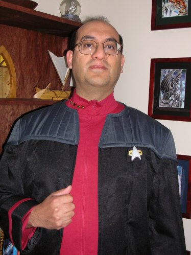 Star Trek garb