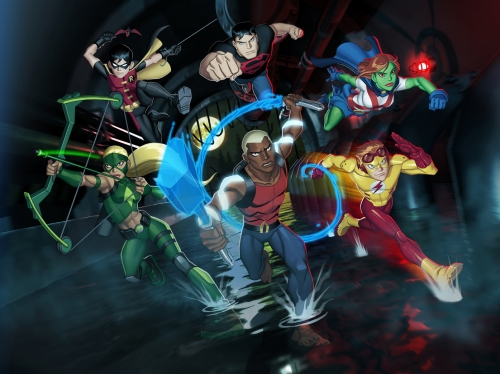 One of TV's latest animated superhero shows