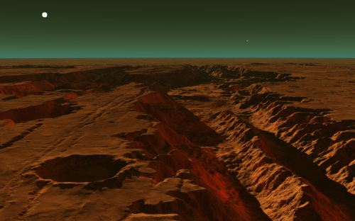 Canyons of Mars