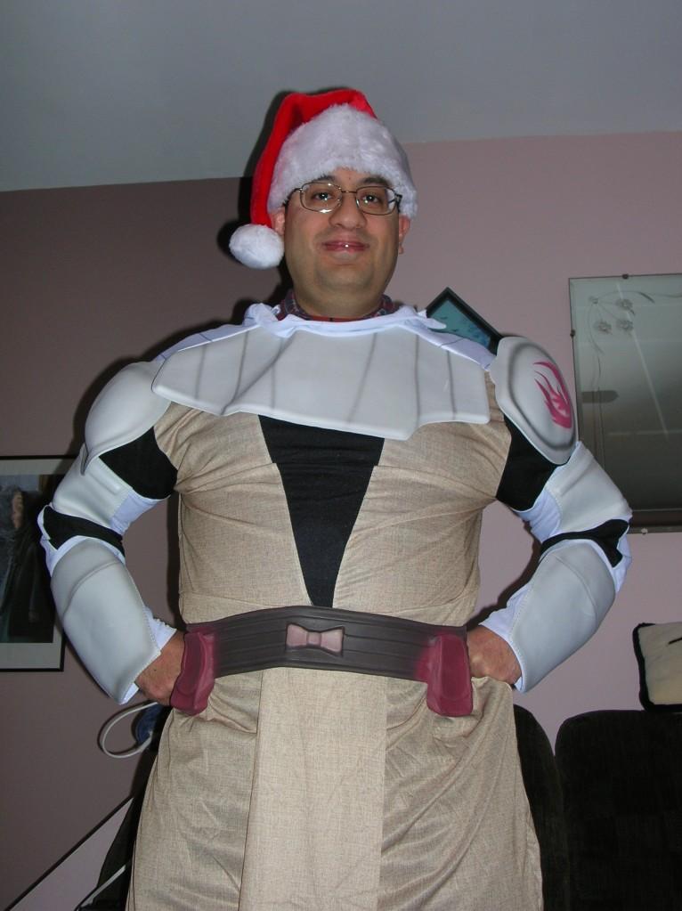 Gene the Christmas Jedi