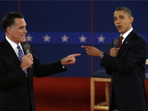 Gov. Romney and Pres. Obama point fingers