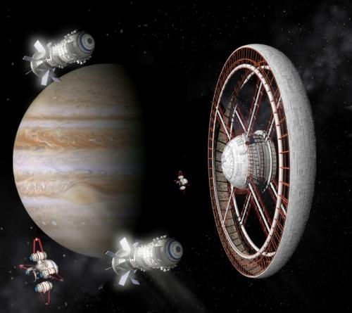 Jovian torus colony
