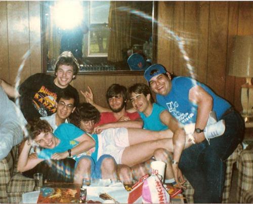 At SUNY-Binghamton, spring 1987