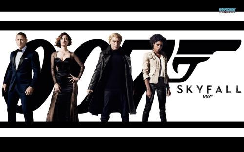 The latest James Bond flick