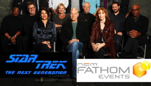 Reunion of ST:TNG cast