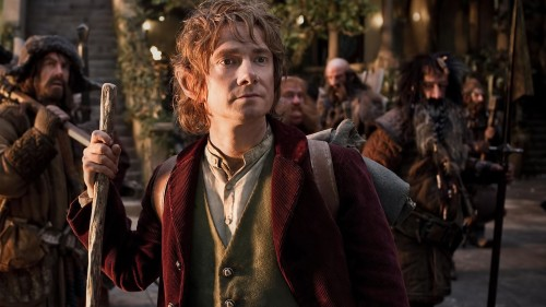 Martin Freeman as young Bilbo Baggins