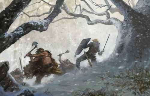 Bandit ambush near Nobb
