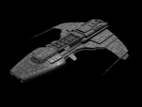 "U.S.N. cruiser ""Dauntless"""