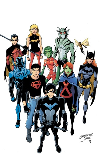Season 2 Young Justice lineup