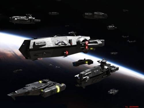 Ships in the Asteroid Belt