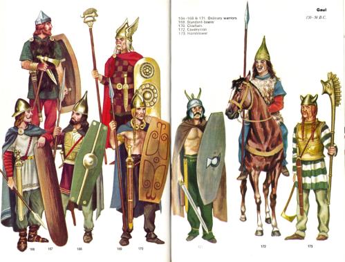Celtic costumes