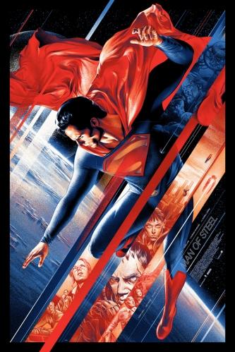 Superman movie poster