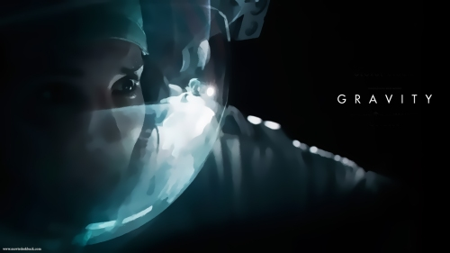 Gravity film wallpaper