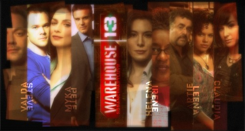 Warehouse 13 cast